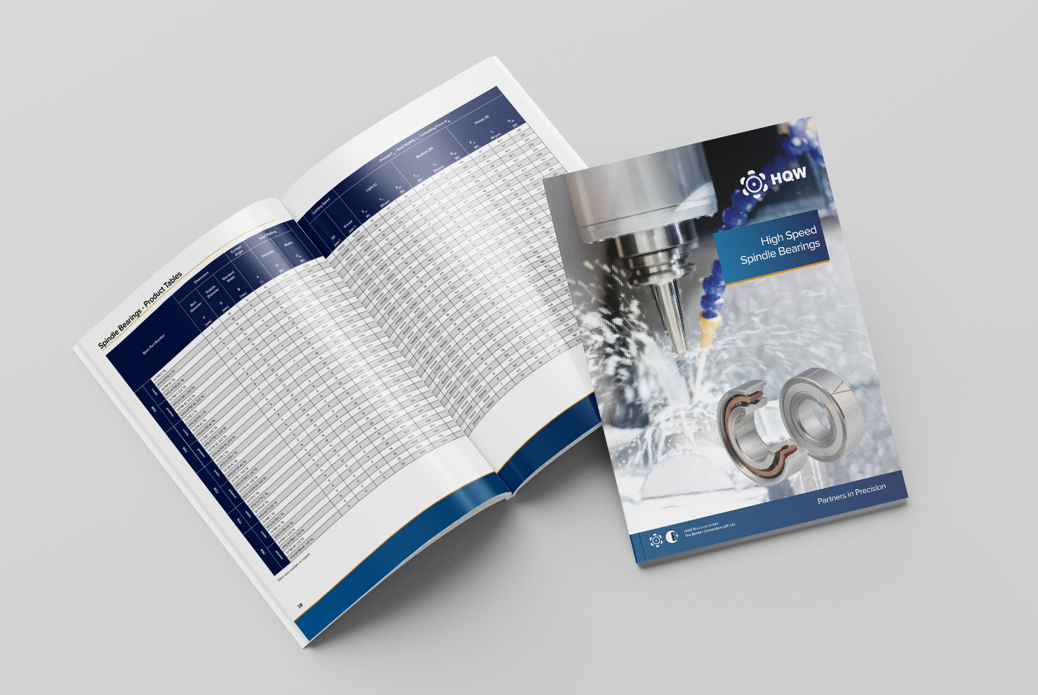 Spindle Bearing Catalogue - HR